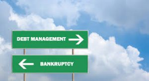 debt management versus bankruptcy