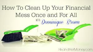 How to straighten out your personal finances