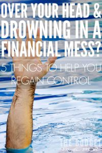 how to regain control of your personal finances